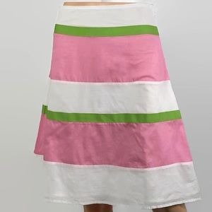 London Jeans Striped Lilly Pulitzer Inspired Skirt